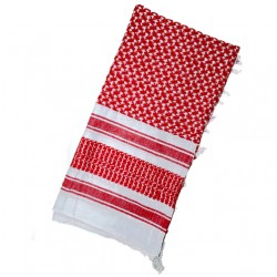 Rood witte Jordaanse Shemagh