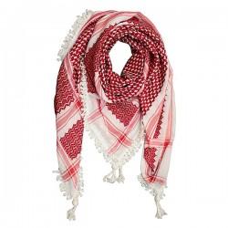 Originele Palestijnse Rood wit keffiyeh