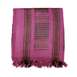 Donkerroze Arafatsjaal