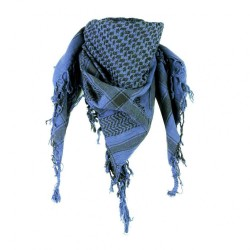 Blauwe Shemagh