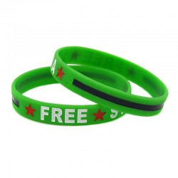 Free Syria armbandje (groen)