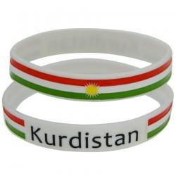 Kurdistan armbandje (wit)