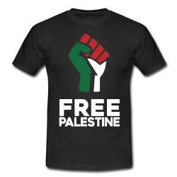 Free Palestine fist shirt